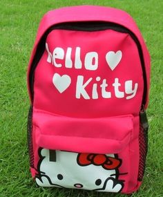 backpacks for girls.Cartoon Kindergarten bag for kids Mini schoolbag Hello kitty school backpack .   #girls #backpacks #fashion www.loveitsomuch.com