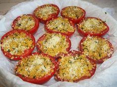 Pomodori gratinati al forno ricetta facile  Blog Profumi Sapori & Fantasia
