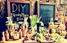 Second Home- Denver, CO.  They have DIY Bloody Mary bar, wish I drank them!