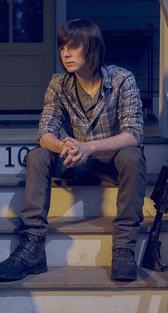 Carl Grimes - S6 (KiRaidesu: I hope Carl will get more scenes~)