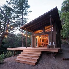 the grid cabin in the Santa Cruz mountainsBuilt by Jeff.Off the grid cabin in the Santa Cruz mountainsBuilt by Jeff. Cabin House Plans, Cabin Floor Plans, Tiny House Cabin, Cabin Homes, Tiny Houses, Small Cabin Plans, Modern Houses, One Room Cabins, Cabins And Cottages