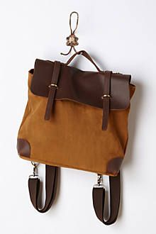 Anthropologies - Now your favorite bag is available as a backpack in suede!
