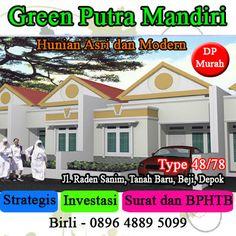 rumah di depok : rumah di depok, cari rumah di depok, green putra mandiri, depok, properti, | birliandri