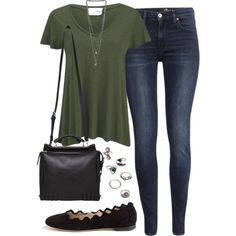 Sin título #1532 by marianam97 on Polyvore featuring American Vintage, H&M, Chloé, 3.1 Phillip Lim, Forever 21 and Miss Selfridge
