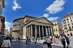 The Pantheon in Rome has survived plunder and invasions for 20 centuries to stand as the most complete example of Roman architecture known.