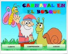 """Carnaval en el bosque"" (Juego de comprensión lectora) Family Guy, 1, Fictional Characters, Spanish, Activities, School, Books, Comprehension Activities, Teaching Resources"
