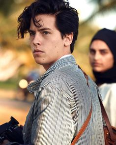 Cole for Vogue Magazine! Photographed by @therealpeterlindbergh Alice Cooper, Betty Cooper, Dylan O, Dylan And Cole, Riverdale Cole Sprouse, Cole Sprouse Jughead, Dylan Sprouse, Logan Lerman, Veronica