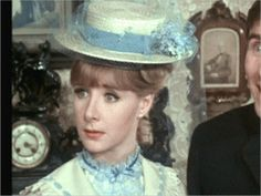Angela Douglas as Doris Mann in Carry On Screaming! Kenneth More, Sidney James, Jim Dale, Kenneth Williams, Barbara Windsor, Annie Oakley, British Seaside, Thanks For The Memories, British Comedy