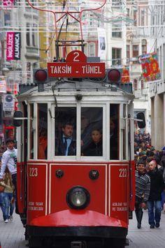 Istanbul Streetcar  by Lynda Young