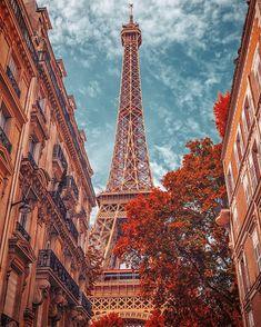 Paris Wallpaper, Fall Wallpaper, Scenery Wallpaper, Tour Eiffel, Paris Eiffel Tower, Eiffel Tower Photography, Paris Photography, City Aesthetic, Travel Aesthetic