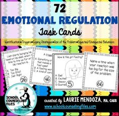 Emotional self-regulation involves a whole bunch of different skills ...