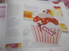 Cupcake using template