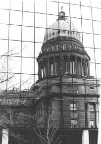 Dates of Construction Idaho Capitol Building -  Granddad (Ned) Edward Rodgers worked leveling grounds with a team of horses while part of the building was occupied.  Must have been Phase II east and west wings.