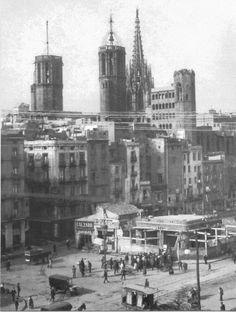 Via Laietana 1904. Barcelona