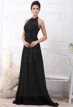 Vestido de noche Material: muselina Talla: 34-56 Tiempo de entrega: 12-18 días laborables Color: negro