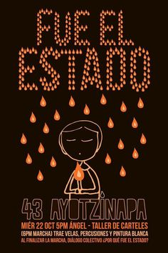 State crime in #Ayotzinapa Mexico. 43 students kidnapped by the police 3 weeks ago are still missin #EPNBringThemBack
