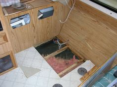 How to Replace Rotted Wood Flooring in a Travel Trailer --POSTED  5 AUGUST, 2014 BY DOITYOURSELFRV