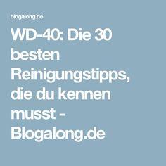 WD-40: Die 30 besten Reinigungstipps, die du kennen musst - Blogalong.de