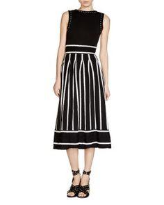 Maje Regret Jacquard Dress   bloomingdales.com