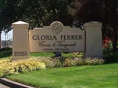 Gloria Ferrar - Wonderful place to stop on a warm day to sit on their veranda and enjoy their sparkling wine with cheese and crackers.