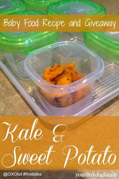 Nutritious and Giveaway - Your Thriving Family Kale Recipes, Baby Food Recipes, Natural Lifestyle, Natural Living, Sweet Potato, Christian Homemaking, Nice Ideas, Babywearing, Baking
