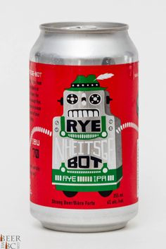 Cannery Brewing Rye Nheitsge Bot Rye IPA Review Brewing Co, Home Brewing, Cool Packaging, Packaging Design, Craft Beer Labels, Beer Label Design, Beer Art, Beers Of The World, Beer Brands