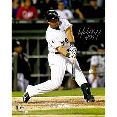 "Jose Abreu Chicago White Sox Fanatics Authentic Autographed 16"" x 20"" Hitting Ball Photograph - $111.99"