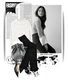 """B&W"" by maja-k ❤ liked on Polyvore featuring Bela and HYD"