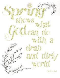Free Spring printable, Robin Sample Designs