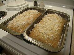 Valley Ridge Recipes: Coconut Bread
