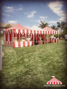 Take the Classic Feeling of the Old Time Carnival to your Backyard!! www.MyLittleCarnival.com