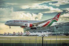 Kenya Airways Dreamliner