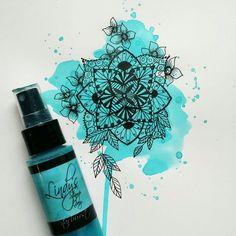 Floral Watercolor, Mandala, Stamp, Stamps, Mandalas, Coloring Pages Mandala