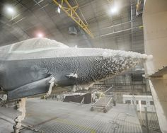 F-35 Fighter Jet Tested in Extreme Weather Conditions;  The F-35 undergoes ice evaluation testing.