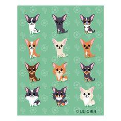 Lili Chin: Chihuahuas