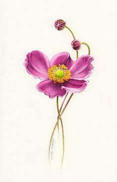 y Eunike Нугрохо (Indonesia). #art,#flowers, #Eunike Нугрохо