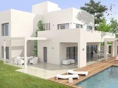 Modern new build villa - under construction - San Pedro