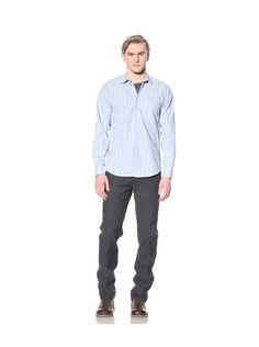 Steven Alan Men's Reverse Seam Button-Front Shirt,$35.00