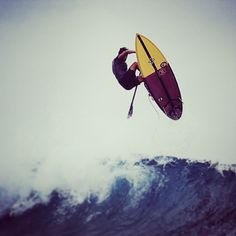 SUP achieving Air!!! Awesome!