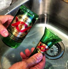 DIY Beer Bottle crafts OR there's a easy tool too!