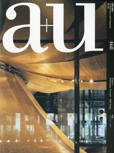a+u (architecture+urbanism) Sep 2009 issue #468 Dominique Perrault / DPA Today - a+u (architecture & urbanism) Japan Architecture Magazine 2007-2009