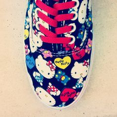 Hello Kitty. Love, Vans. #hellokitty #vans #urbanoutfitters