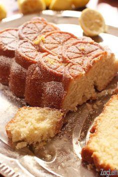 This lovely Lemon Cake is a family favorite dessert. Made with lemon juice, lemon zest and buttermilk, it's the perfect cake for lemon lovers!   ZagLeft