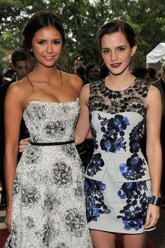 Nina Dobrev & Emma Watson I'm in Love!