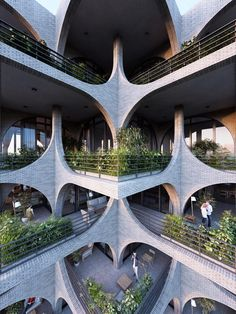Kinetic architecture, verdant cascading balconies, timber-frame skyscrapers and double-helix bridges: Beijing- and Salzburg-based multidisciplinary firm Penda brings all sorts of refreshing ideas t…