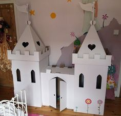 change this to a small scale castle for Lily's my little ponies