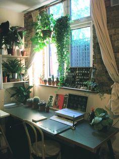 Illustrator Katie Scott's studio