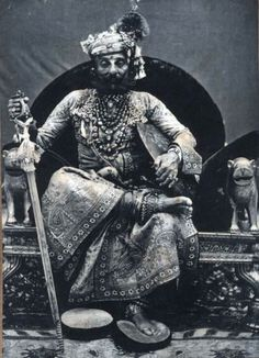 Maharaja Tukht Singh of Jodhpur. These Royal men seldom made old age - they just keeled over, worn out by all the excess.