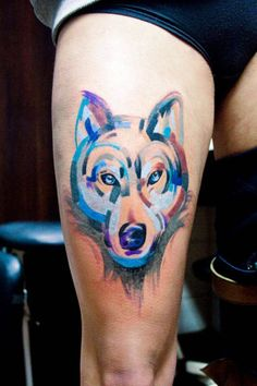 #tattoofriday – Magdalena Bujak   #tattoo #tatuagem #magdalenabujak #watercolortattoos #paintingtattoos #brushtattoos