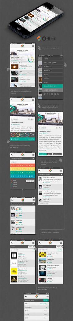 Daily Mobile UI Design Inspiration #20
